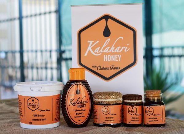 Kalahari Raw Organic Honey-500g